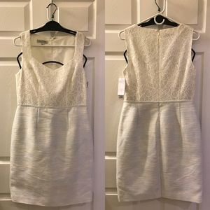 Size 8 💖 KAY UNGER White Lace Dress